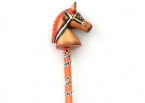 Pencil Horse Orange