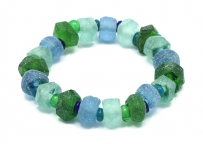 Recycled Glass Bracelete