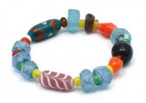 Recycled Glass Bracelete