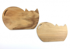 Medium & Small Board Cat Shape