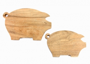 Medium & Small Board Pig Shape