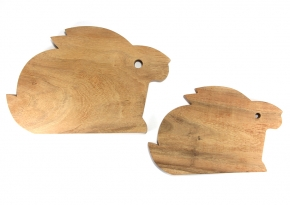 Medium & Small Board Rabbit Shape