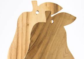 Medium & Small Board Pear Shape