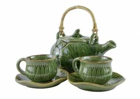 Tea Set Lotus Celadon