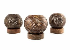 Coconut Shell Lantern